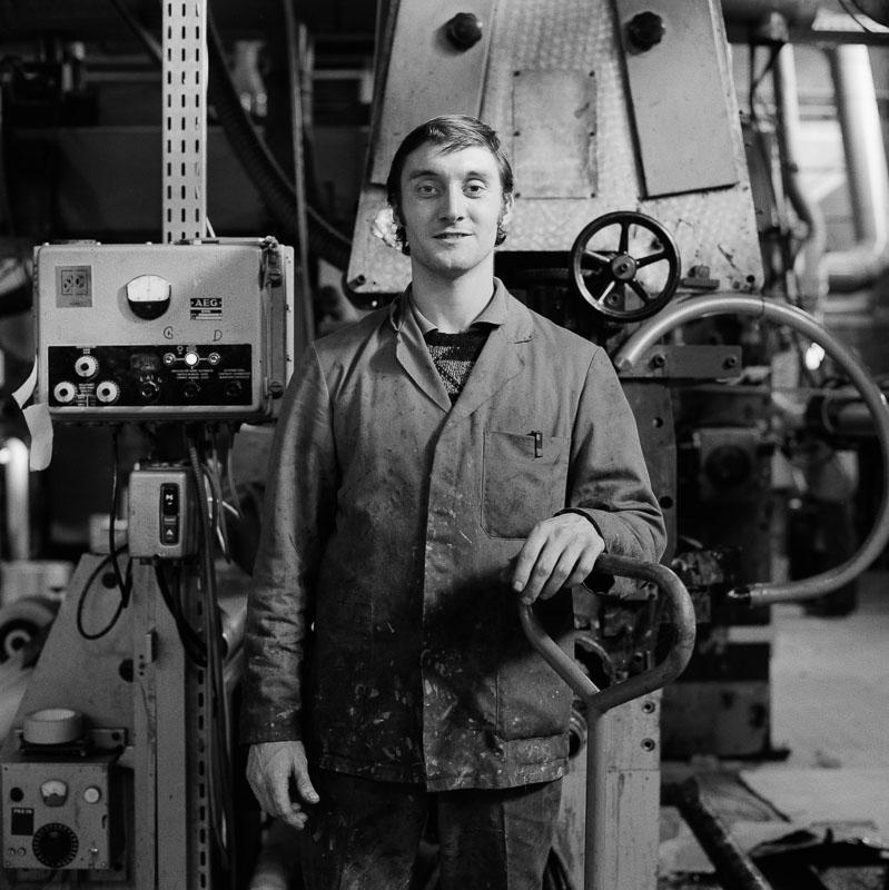 Portrait métier industrie