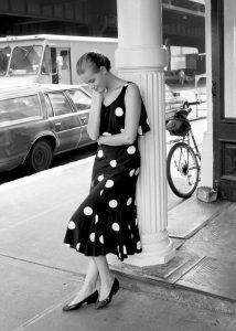 Femme Noir & Blanc - NYC